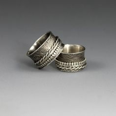 Textured Twiddle Spinner Ring $156 Handcrafted by Berlin Randall: K. Berlin Metalsmith