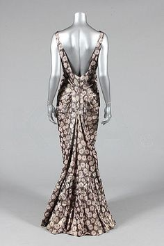 1930's Evening Dress, Kerry Taylor Auction