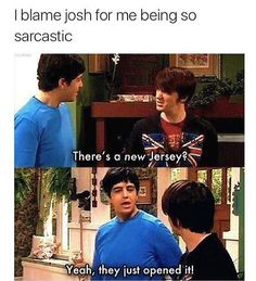 Drake and Josh. Best show ever Old Disney Tv Shows, Drake Bell, Comedy, Nickelodeon Shows, Drake Quotes, Tv Show Quotes, Favorite Tv Shows, Favorite Things, The Funny