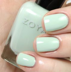 Review & Swatches: ZOYA Lovely Collection for Spring 2013 - Zoya Neely