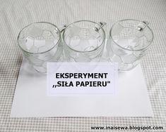 Ina i Sewa: 60 Eksperymentów dla dzieci - zestawienie Bible Object Lessons, Aktiv, Science, Teaching, Education, Creative, Blog, Den, Paper