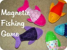 Magnetic Fishing Game {A Tutorial!}