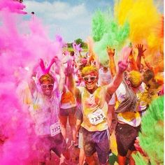 Yes, it's THAT much fun #colormeradhartford. Credit: instagram @btyler22