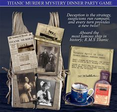 You're good on publicity catching ideas, but there's a few secrets you don't want made public. Shortly after the dinner his dead body is discovered, he's been murdered. Mystery Dinner Party, Dinner Party Games, Teen Party Games, Mystery Parties, Teen Parties, Murder Mystery Games, Murder Mysteries, Cozy Mysteries, Mystery Novels
