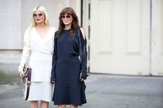 80 French Style Lessons To Learn Now #refinery29  http://www.refinery29.com/2014/10/75565/paris-street-style-photos-fashion-week-2014#slide41  Don't: Smile — just kidding!