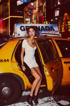 NEW YORK TAXI FASHION. BOARD BY MARIA FANO - mariafano.com -Free People