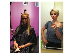 Going from long to short hair! - The HairCut Web - Before / After Hair Photos – Long to Short Hair Transformations Blonde Layered Hair, Blonde Layers, Long To Short Hair, Short Hair Cuts, Short Hair Styles, Before After Hair, Before And After Haircut, Cut Her Hair, Love Hair