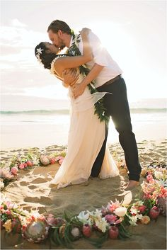 Breezy Hawaiian Wedding - Jinny + Adam - The Daily Wedding - Anna Kim Photography - Maui, Hawaii