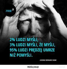 2% ludzi myśli, 3% ludzi myśli, że myśli