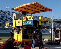 2016 Sprint Cup Series pit boxes Wednesday, March 9, 2016 No. 34 Chris Buescher