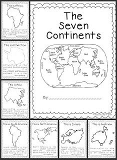 This is a great resource to use when teaching the seven continents to grade. The link will provide you with a ton of templates, activity ideas, and art projects to get your students engaged in social studies geography. 3rd Grade Social Studies, Social Studies Activities, Teaching Social Studies, Teaching Tools, Kindergarten Social Studies, Social Studies Classroom, Classroom Themes, Elementary Social Studies, Teaching Resources
