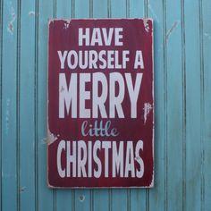 Mooi bord met tekst voor Kerst. Mooi zeg zo'n bord met een eenvoudige tekst erop voor de kerstdagen.