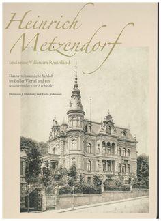 Das gehört in jedes Bücherregal: Mahlberg/Nußbaum (Hrsg.), Heinrich Metzendorf https://www.mackensen.de/shop/item/9783941217102