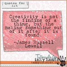 Weekend Inspiration: Quotes for Art