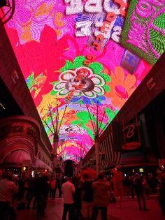Fremont Street Experience - Las Vegas NV