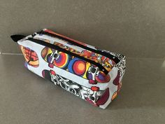 Trousse Zip-Zip cousue par Msam - Patron Sacôtin : Trousse Zip-Zip