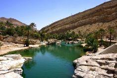 Wadi Shab oázis – Omán