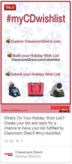 Holiday Wish List Pin To Win Giveaway