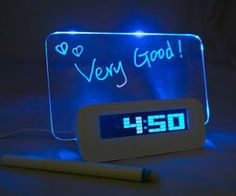LED Clock w/board & 4 USB hub  ShitYouCanAfford.com :: Best Products On Amazon under $20 | ShitYouCanAfford is where you'll find the best, coolest, and most useful products to buy on Amazon for under $20 dollars or less. You'll be able to buy cool gifts without spending a lot of money.
