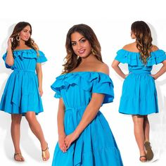 Nice Awesome Plus Size XL summer Women blue Short Sleeve  Party Cocktail Casual Mini Dress 2018 Check more at http://24myshop.cf/fashion-style/awesome-plus-size-xl-summer-women-blue-short-sleeve-party-cocktail-casual-mini-dress-2018/