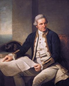 A Covent Garden Gilflurt's Guide to Life: Captain Cook by Nathaniel Dance-Holland  1776