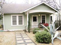 So cute for a starter home!
