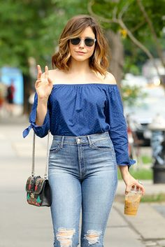 Sophia Bush Street Style  Out in New York City June-2016  actress Sophia Bush