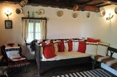The village hotel Breb. Reconstructed Romanian village home, by our friend Penny. This is where we started dreaming. Traditional Interior, Traditional House, Mobiles, Village Hotel, Rustic Design, Home Fashion, Country Decor, Interior Decorating, Sweet Home
