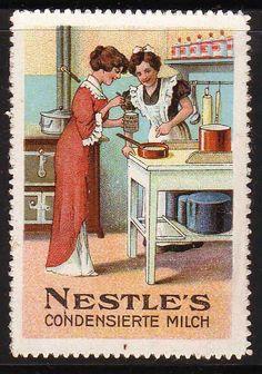 Nestle vintage ad