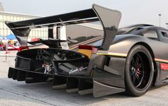 """Pagani unveiled the final version of the Zonda, called Zonda Revolución to clients and family members during """"Vanishing Point Pagani Zonda, Best American Cars, Cool Cars, Super Cars, Antique Cars, Cool Photos, Vehicles, Amazing, Image"""
