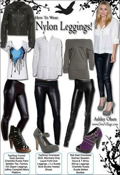 how to style faux leather liquid leggings