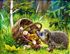 Hedgie Scavenger Hunt (63 pieces)