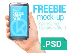 Freebie hand & phone mock-up  by Vladislav Karpov
