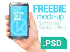 Freebie hand & phone mock-up  by Vladislav Karpov
