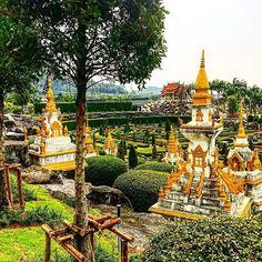 Botanical Gardens of Pattaya, Thailand #thailand #pattaya
