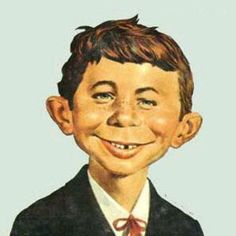 """""""What, Me Worry?"""" are the famous words of Alfred E. Neumann who is the face of MAD Magazine. Best Memories, Childhood Memories, Alfred E Neuman, Why Worry, Mad Magazine, Magazine Covers, Culture Pop, Culture Club, Photo Vintage"""