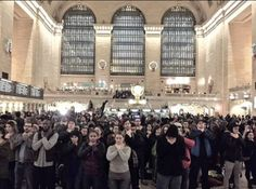 Grand Central Station #ICantBreathe