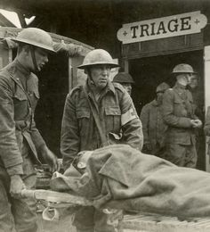 Battlefield Medicine: Triage-Field Hospital Section, essay by George Thompson, M. World War One, First World, Vintage Medical, Emergency Preparedness, Survival, Military History, Wwii, Just In Case, How To Become