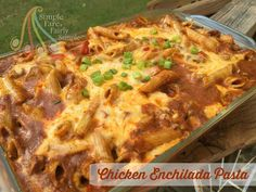 Simple Fare, Fairly Simple: Chicken Enchilada Pasta