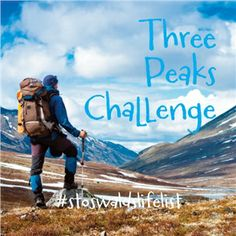 Take on the 3 biggest peaks in the UK - Ben Nevis, Scafell Pike and Snowdon- in one go!