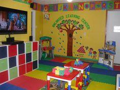 Daycare / child care room set ups