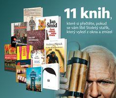 NEOLUXOR: 11 knih, které si přečtěte, pokud se vám líbil Stoletý stařík, který vylezl z okna a zmizel