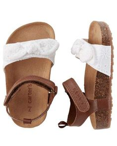 Eyelet Cork Sole Sandals Baby Girl Carter's Eyelet Cork Sole Sandals from . Shop clothing & accessories from a trusted name in kids, toddlers, and baby clothes.Sole Sole may refer to: Baby Outfits, Toddler Outfits, Kids Outfits, Newborn Outfits, Cute Baby Shoes, Baby Girl Shoes, Girls Shoes, Girls Sandals, Baby Boots