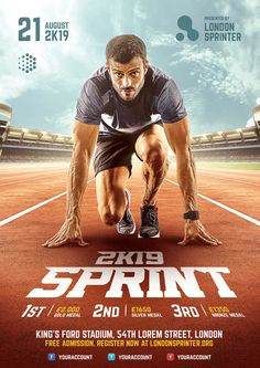 Trendy Sport Design Poster Flyer Template The Effective Pictures We Offer You About Graphic Design texture A quality picture can tell you many things. You can find the most beautiful pictures that Creative Poster Design, Ads Creative, Creative Posters, Creative Flyers, Template Brochure, Brochure Design, Flyer Template, Sports Graphic Design, Graphic Design Posters
