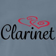 Clarinet Hearts Clarinet, Cool Designs, Geek Stuff, Hearts, Company Logo, Humor, Band, Logos, Fashion