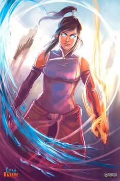 We are also BIG fans of the Avatar series! And Sonya is specially a fan of Korra Hope you guys enjoy this fanart we created! I'm the Avatar! - The Legend of Korra Fanart Avatar Legend Of Aang, Korra Avatar, Team Avatar, Legend Of Korra, Avatar Cartoon, Avatar Funny, The Last Avatar, Avatar The Last Airbender Art, Rayla Dragon Prince