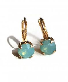 Sheer Addiction Jewelry - Opal earrings