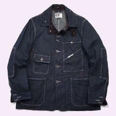 Engineered Garments - RAILROADER JACKET 12oz Denim
