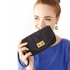 Uptown Wristlet: The chic little accessory to gift your bridesmaids this fall! $49