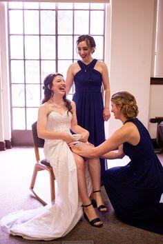 Getting ready details. Love the deep blue bridesmaid gowns that match the shoes. #MaggieSottero #Maggiebride #mylovestory #weddingdecor #weddingidea #colorfulwedding @ki_photography @kip_weddings